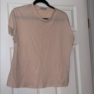 Zara women's t shirt with pears